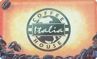Italia Coffee Card Barbados