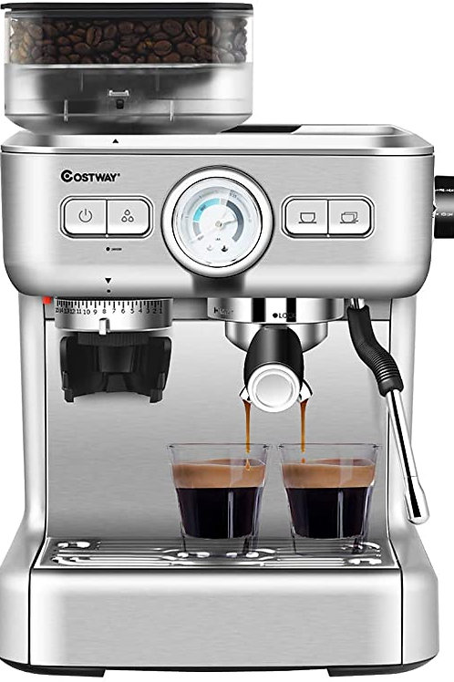 Costway Semi-Automatic Espresso Machine