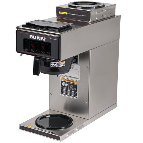 BUNN VP17-2 SS Pour-over Coffee Brewer + 2 Warmers