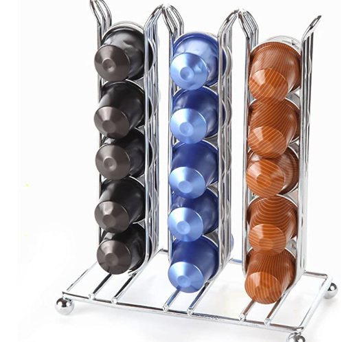 Nespresso Display Chrome 30 Capsule