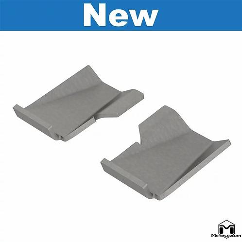 Lower Front Control Arm Skid Plates [Weld-On], JL Wrangler/JT Gladiator