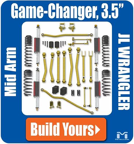 """JL Wrangler 3.5"""" Gamechanger Suspension"""