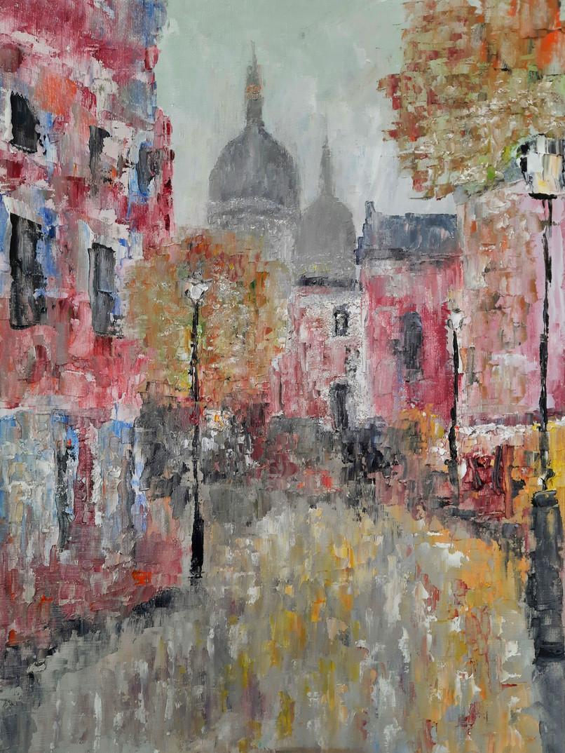 'Montmartre, nightfall'