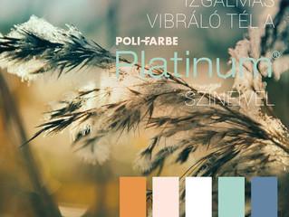 Vibráló tél a Platinum színeivel