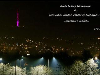 Békés boldog karácsonyt, és örömökben gazdag, boldog új évet kívánunk... TPF csapat