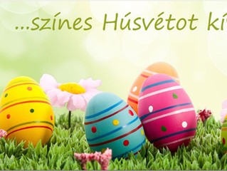 Színes Húsvétot kívánunk