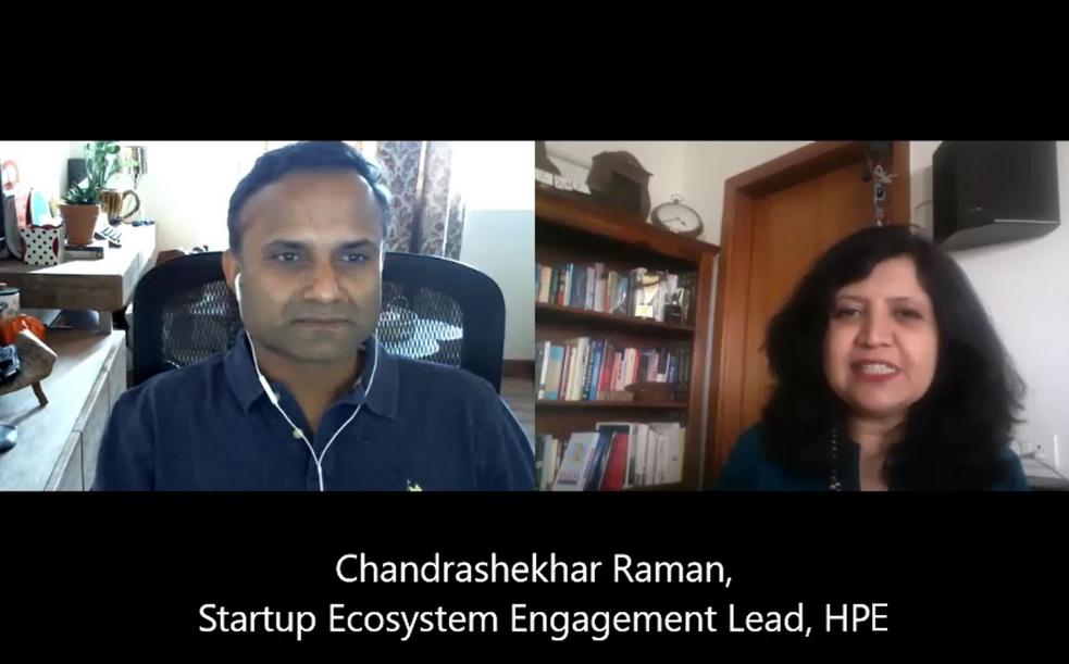 Interview with Chandrashekhar Raman