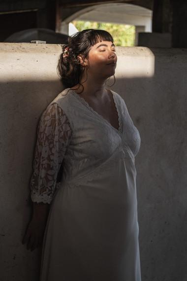 robe de mariée garnde taille
