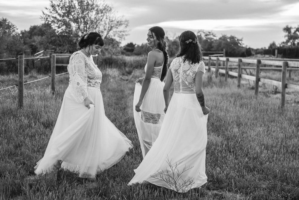 Robe de mariée grande taille en guipure
