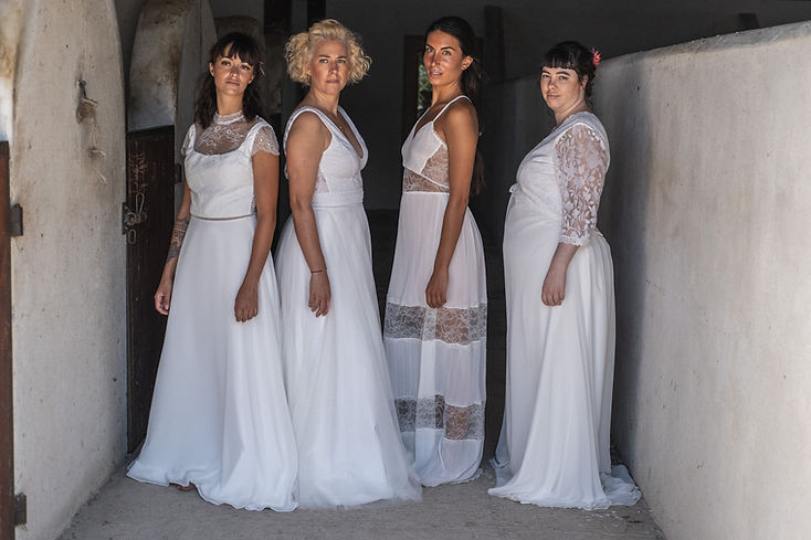 Robes de mariée boheme sur mesure