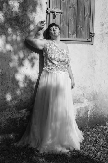 bustier de mariée grande taille