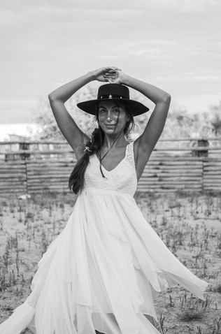 robe de mariée qui tourne