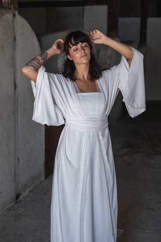 robe de mariée kimono