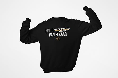 Sweatshirt - HOUD AFSTAND - Unisex