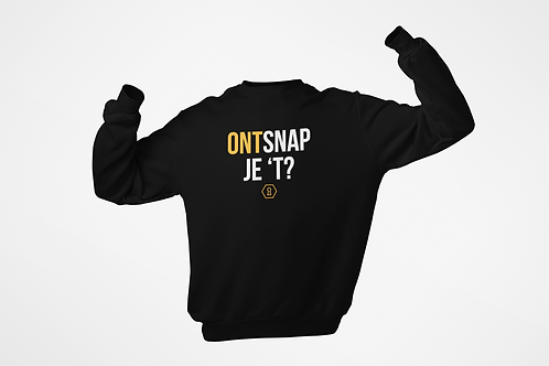 Sweatshirt - ONTSNAP JE 'T - Unisex