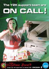 Ericsson poster design & print