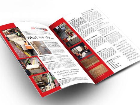 Brochure folder design & print company information, leaflets