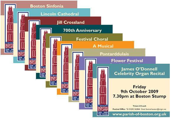 church event ticket design