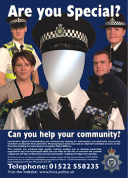 Lincolnshire police poster design & print
