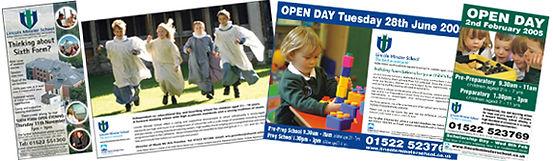 School advert design
