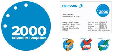 Ericsson branding design & print