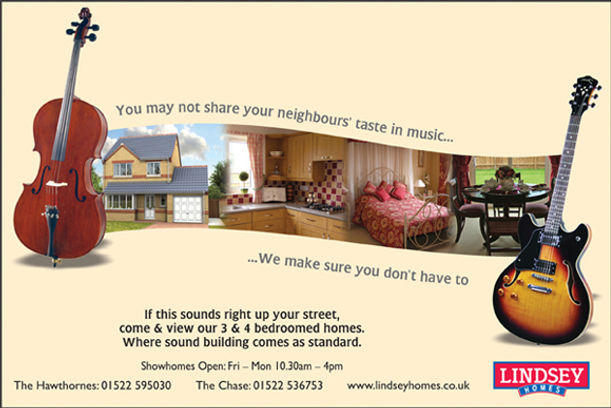 Advert design for Taylor Lindsey, newspaper advert design, magazine advert design