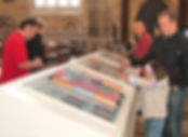 church children play exhibition interactive design