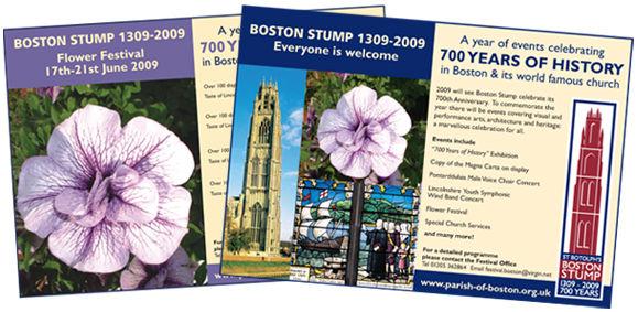 church event advert design