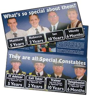 Lincolnshire police leaflet design & print