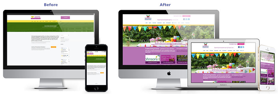 Butterfly - WEB events before & after.jp