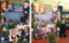 School exhibition display design