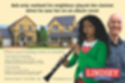 Advert design for Taylor Lindsey, newspaper advert design, magazine advert design