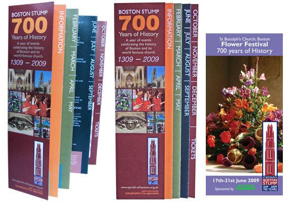 church event leaflet design