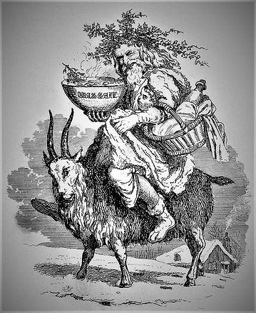Old_Christmas_riding_a_goat,_by_Robert_S