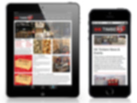 Website design and maintenence for PC, tablet and phone