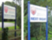 School signage design & install