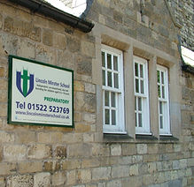 School signage design & installation