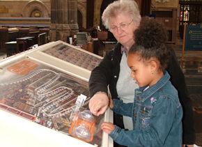 church children play exhibition interactive design