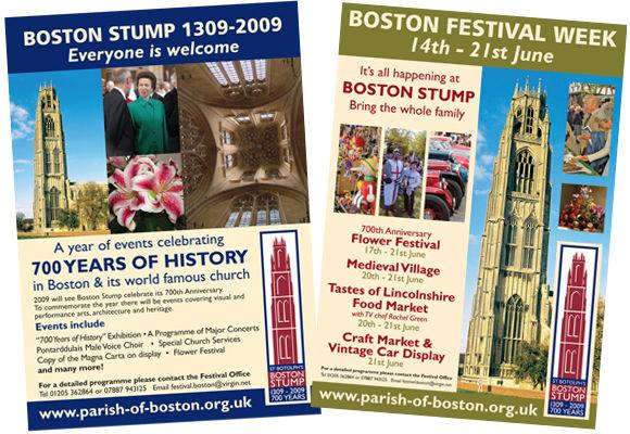 church event poster design