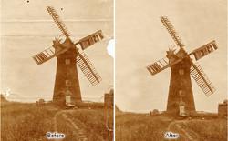 repair tatty old photograph