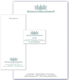 Doddington stationery design & print