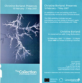 museum, art gallery exhibition leaflet tickets