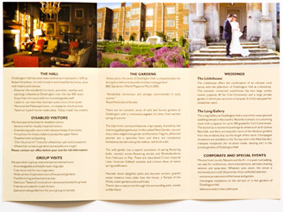 Doddington leaflet design & print