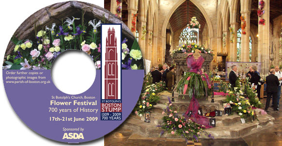 church cd dvd event design
