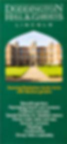Doddington leaflet design & print