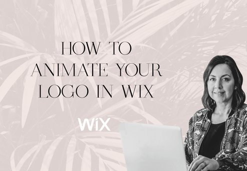 WIX TUTORIAL: How to animate your logo in Wix