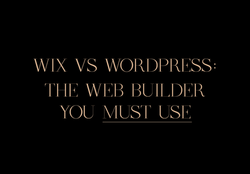Wix vs Wordpress: Stop thinking Wordpress is the only web builder you must use