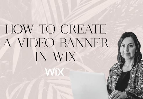HOW TO CREATE A VIDEO BANNER IN WIX