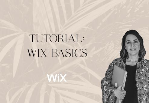 WIX BASICS