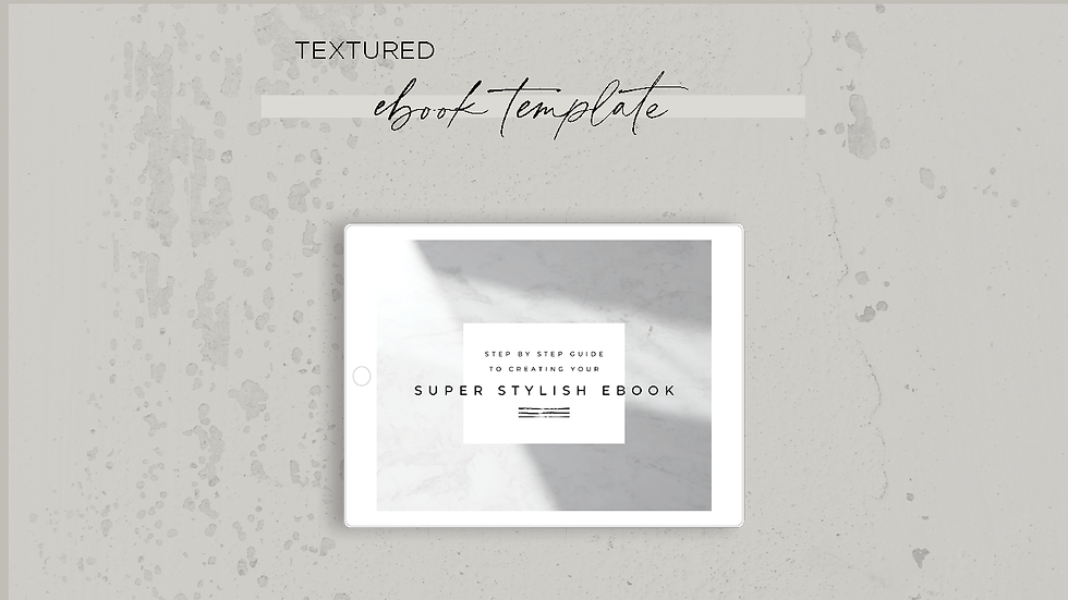 Textured Ebook Template